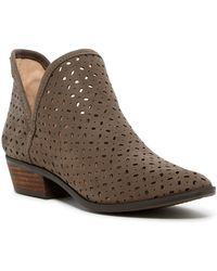 Lucky Brand - Kelbie Perforated Bootie - Lyst