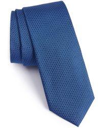 Calibrate - Seattle Textured Silk Tie - Lyst