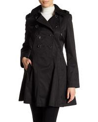 Via Spiga - Solid Trench Coat - Lyst