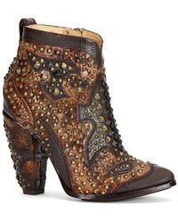 Frye - Remy Studded Bootie - Lyst