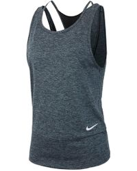 Nike - Mesh T-back Athletic Tank - Lyst