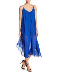 C. Luce - Sleeveless Midi Dress - Lyst