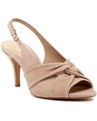 89ce8c4eb43 Vince Camuto - Piminae Knotted Slingback Leather Sandal - Lyst