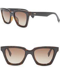 c3f7e697d1 Lyst - Gucci Women s Acetate Round Retro Sunglasses