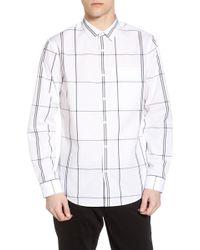 Calibrate - Windowpane Sport Shirt - Lyst