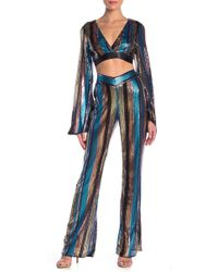 Wow Couture - Sequin Mesh Pants - Lyst
