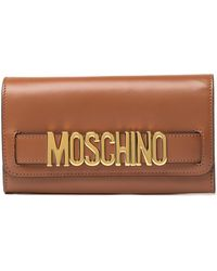 Moschino - Leather Wallet - Lyst