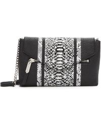 MILLY - Melrose Leather Crossbody Bag - Lyst