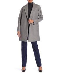 Theory - Haloki Wool Blend Coat - Lyst