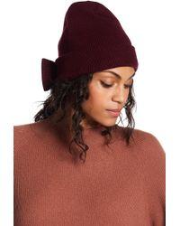 efbce31e500 Lyst - Kate Spade New York Half And Half Cuff Hat - Grey Melange in Gray