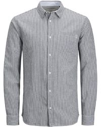 Jack & Jones - Jorelton Long Sleeve Slim Fit Shirt - Lyst