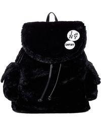 Steve Madden | Caleb Faux Fur Backpack | Lyst