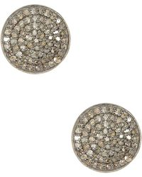 Adornia - Imogen Champagne Diamond Earrings - 1.00 Ctw - Lyst