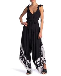 236c3eed2012 Young Fabulous   Broke - Brixton Patterned Wide Leg Jumpsuit - Lyst