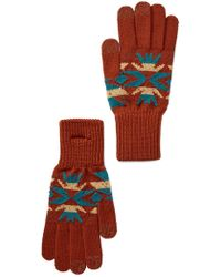 Pendleton - Echo Park Copper Texting Glove - Lyst