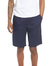 The Rail - Pleated Chino Shorts - Lyst