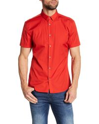BOSS - Empson Extra Slim Fit Shirt - Lyst