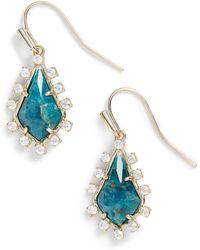 Kendra Scott - Juniper Drop Earrings - Lyst