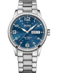 BOSS - Pilot Vintage Quartz Analog Bracelet Watch, 44mm - Lyst