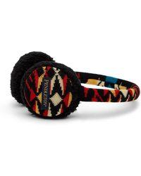 Pendleton - Knit Merino Wool Ear Muffs - Lyst