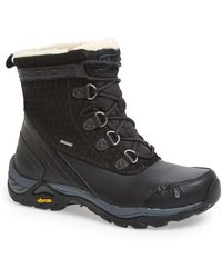 Ahnu - Twain Harte Insulated Faux Shearling Lined Waterproof Boot - Lyst