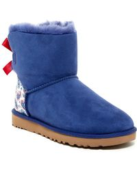 UGG | Uggpure(tm) Mini Bailey Genuine Fur Lined Liberty Boot | Lyst
