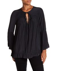Calvin Rucker - I Need You Bell Sleeve Blouse - Lyst