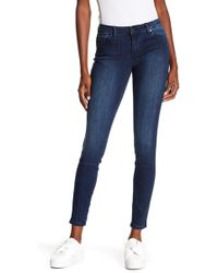 Tractr - Mid Rise Skinny Jeans - Lyst