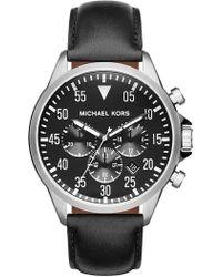 MICHAEL Michael Kors - Men's Gage Chronograph Watch - Lyst