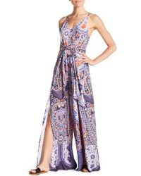 On The Road - Alina V-neck Jumpsuit - Lyst