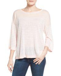 NYDJ - Serra Stripe Sweater - Lyst