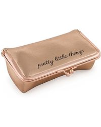 MIAMICA - Bling It On! Kiss Lock Jewelry Roll - Rose Gold - Lyst