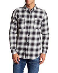 Neuw - Utility Check Regular Fit Dress Shirt - Lyst