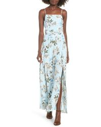 Leith - Floral Maxi Dress - Lyst