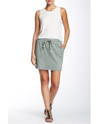 Isy & Ki - French Terry Mini Skirt - Lyst