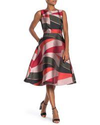 Ted Baker - Sahara Cut Out Midi Dress - Lyst