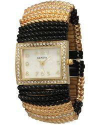 Olivia Pratt - Women's Beaded Bracelete Style Watch - Lyst
