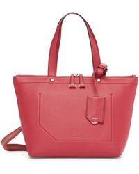 Bally - Extra Small Ssime Tote - Lyst