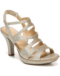 399752349680 Naturalizer - Dianna Strappy Heeled Sandal - Wide Width Available - Lyst
