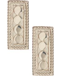 Anna Beck - Sterling Silver Small Bar Stud Earrings - Lyst