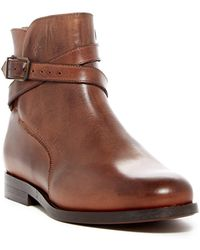H by Hudson | Dillie Leather Buckle Boot | Lyst