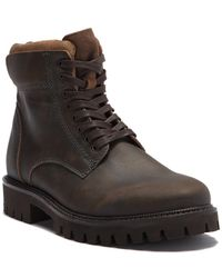 Kenneth Cole Reaction - Design Wingtip Combat Boot - Lyst