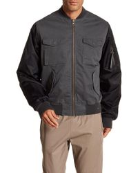 Wesc - The Contrast Bomber Jacket - Lyst