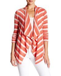 Chaus - Striped Cardigan - Lyst