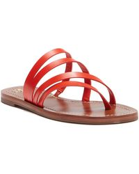 e5485ddd71bbb Lyst - Tory Burch Patos Sandal Blond Leather in Brown