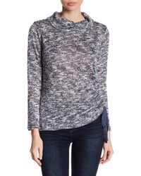 Two By Vince Camuto | Cowl Neck Side Tie Jumper | Lyst