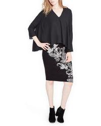 RACHEL Rachel Roy - Paisley Printed Skirt - Lyst
