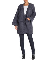 Roffe Accessories - Oversized Chunky Knit Cardigan - Lyst