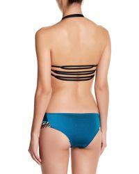 IMSY Swim - Mary Pattern Detail Reversible Bikini Bottom - Lyst