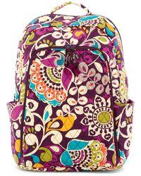 Vera Bradley - Laptop Backpack - Lyst